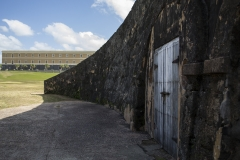 Alexis_Masino_UPenn_Tony_Ward_Old_San_Juan_Puerto_Rico_spring_break_vacation_photo_photography_island_castillo_san_felipe_del_morro_door_contrast_juxtaposition_old_modern_new_rustic_door