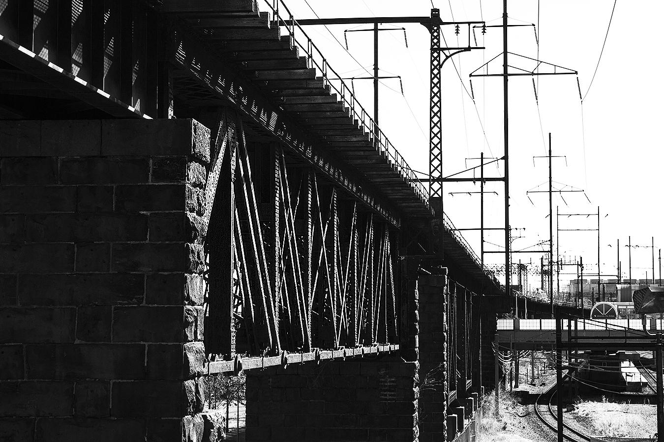 Janelle_Tong_Photography_Tony_Ward_Studio_Individual_Project_UPenn_Penn_Park_Bridges_Railroad_Tracks_SEPTA_Black_and_White