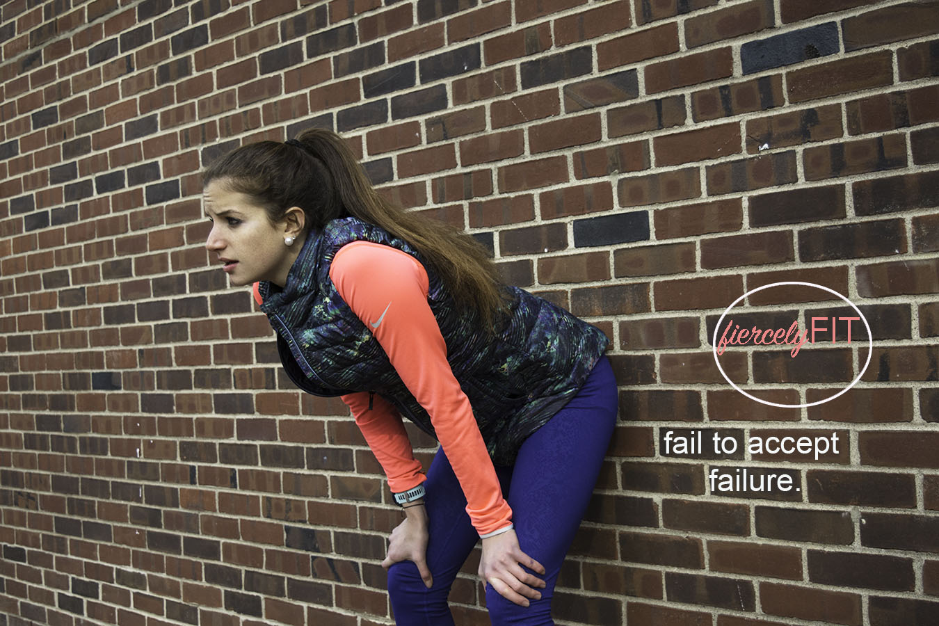 Joy_Lewis_Branding_Athletic_Wear_Fiercly_Fit_Leaning_Against_Wall_Catching_Breath