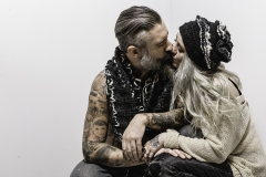 ALEXIS_MASINO_UPENN_TONY_WARD_FASHION_PHOTOGRAPHY_FINE_ARTS_OLD_SCHOOL_SHIRT_MAKERS_KEVIN_STEWART_KAY_DAVIS_CLOTHES_CLOTHING_CLOTHIERS_KNITWEAR_KNIT_SCARF_SCARVES_HAT_HATS_WINTER_MODEL_BEARD_TATTOOS_COUPLE_16
