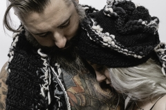 ALEXIS_MASINO_UPENN_TONY_WARD_FASHION_PHOTOGRAPHY_FINE_ARTS_OLD_SCHOOL_SHIRT_MAKERS_KEVIN_STEWART_KAY_DAVIS_CLOTHES_CLOTHING_CLOTHIERS_KNITWEAR_KNIT_SCARF_SCARVES_HAT_HATS_WINTER_MODEL_BEARD_TATTOOS_COUPLE_5