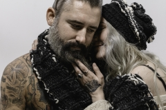 ALEXIS_MASINO_UPENN_TONY_WARD_FASHION_PHOTOGRAPHY_FINE_ARTS_OLD_SCHOOL_SHIRT_MAKERS_KEVIN_STEWART_KAY_DAVIS_CLOTHES_CLOTHING_CLOTHIERS_KNITWEAR_KNIT_SCARF_SCARVES_HAT_HATS_WINTER_MODEL_BEARD_TATTOOS_COUPLE_8