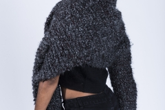 Jessica_Moh_Tony_Ward_Studio_Fashion_Photography_Kevin_Stewart_Kay_Davis_Female_Model_Knit_Scarf_One_Sleeve_Back_Portrait_Side_Look