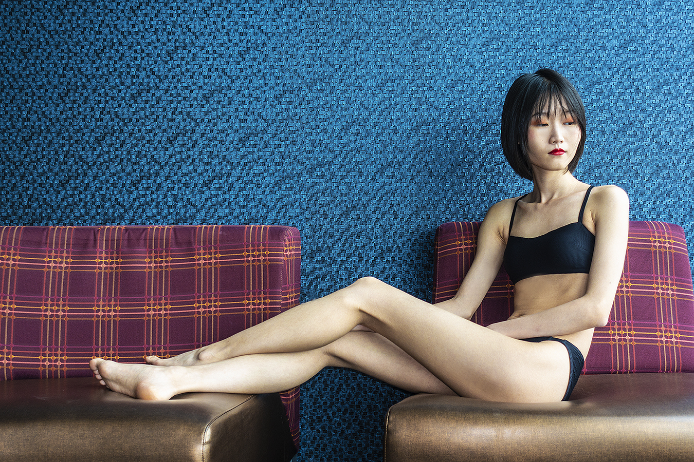 Tony_Ward_Studio_portrait_Linda_Ruan_black_bathing_suit_fashion_Ocean_Casino_lobby_AC