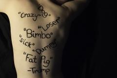 Megan_Lane_photography_politics_presidential_election_2016_trump_quotes_aginst_women_bimbo_loser_crazy_dog_sick_fat_pig_loser