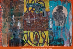 Mikel_Elam_painter_fine_arts_mixed_medium_canvas_modern_primatives_TARGET PRACTICE-20