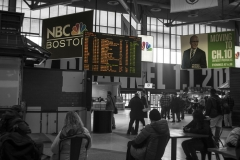 Rebecca_Huang_Boston_South_Station_Train_Station_Information_Boards_Waiting_scheduling_board_selective_black_and_white