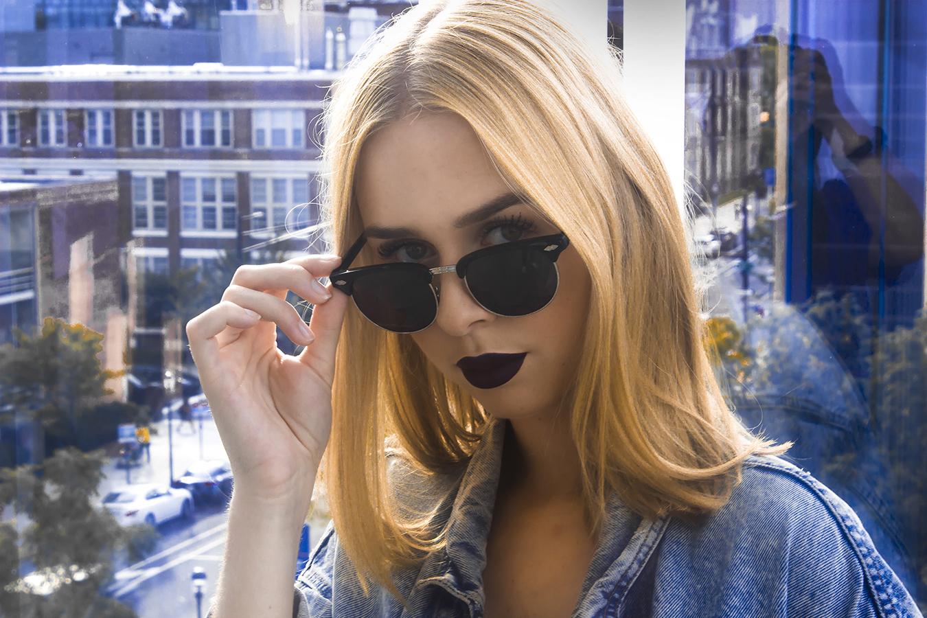 RIA_VAIDYA_photography_fashion_tony_ward_studio_leather_jacket_dark_sunglasses_dark_lips_denim