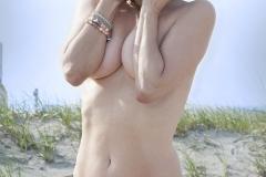 Tony_Ward_photography_Margate_beach_bikinis_suntanning_model_Sidnie_Burton_topless_Victoria's_Secret_fashion