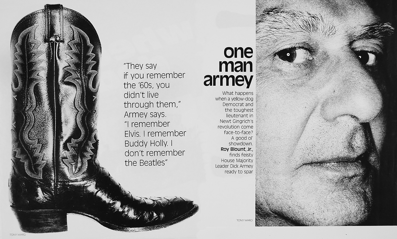 Tony_Ward_photography_George_magazine_Dick_Armey_cowboy_boots