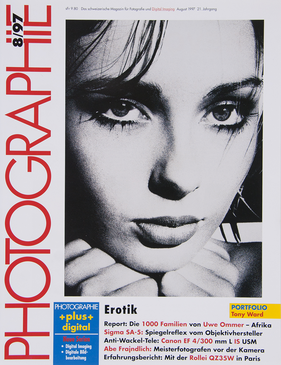 Tony_Ward_studio_towel_wrap_black_beauty_photo_technik_international_german_magazine_cover_sandra_bauer_sexy_faces