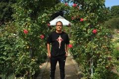 Tony_Ward_photography_self_portrait_selfie_Rose_Garden_Hamburg_Germany