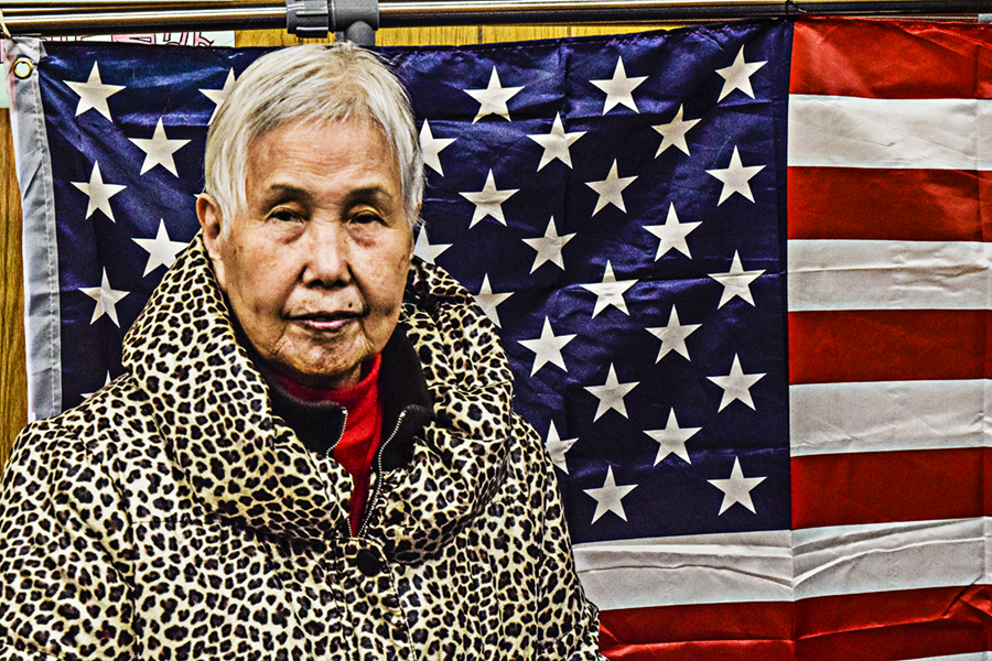 Victoria_Meng_Project3_Chinese_Woman_Flag_American_Proud_High_Pass_Portrait_Chinatown