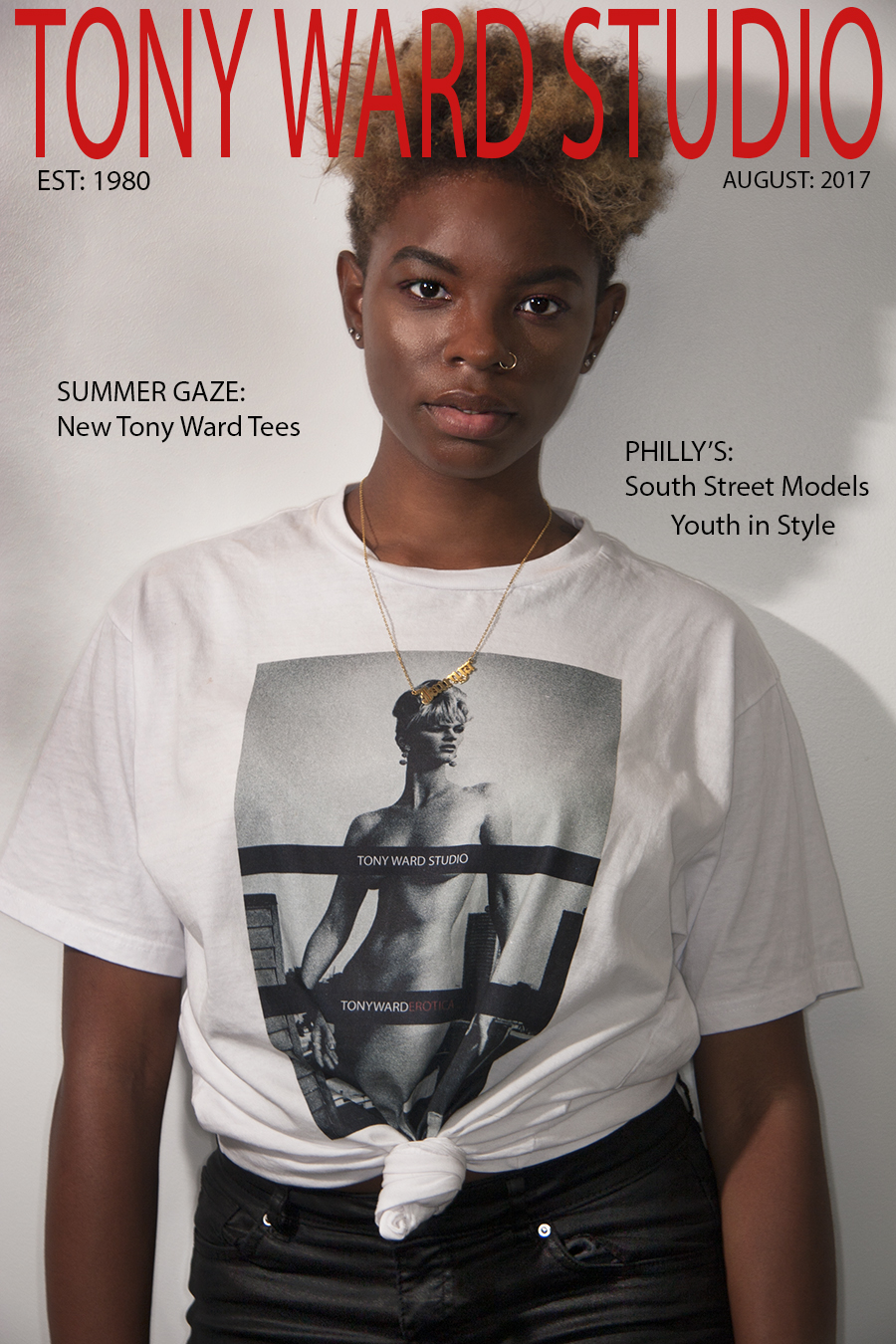Tony_Ward_Studio_August_2017_homepage_model_Jamya_Monet_modeling_erotica_t-Shirt