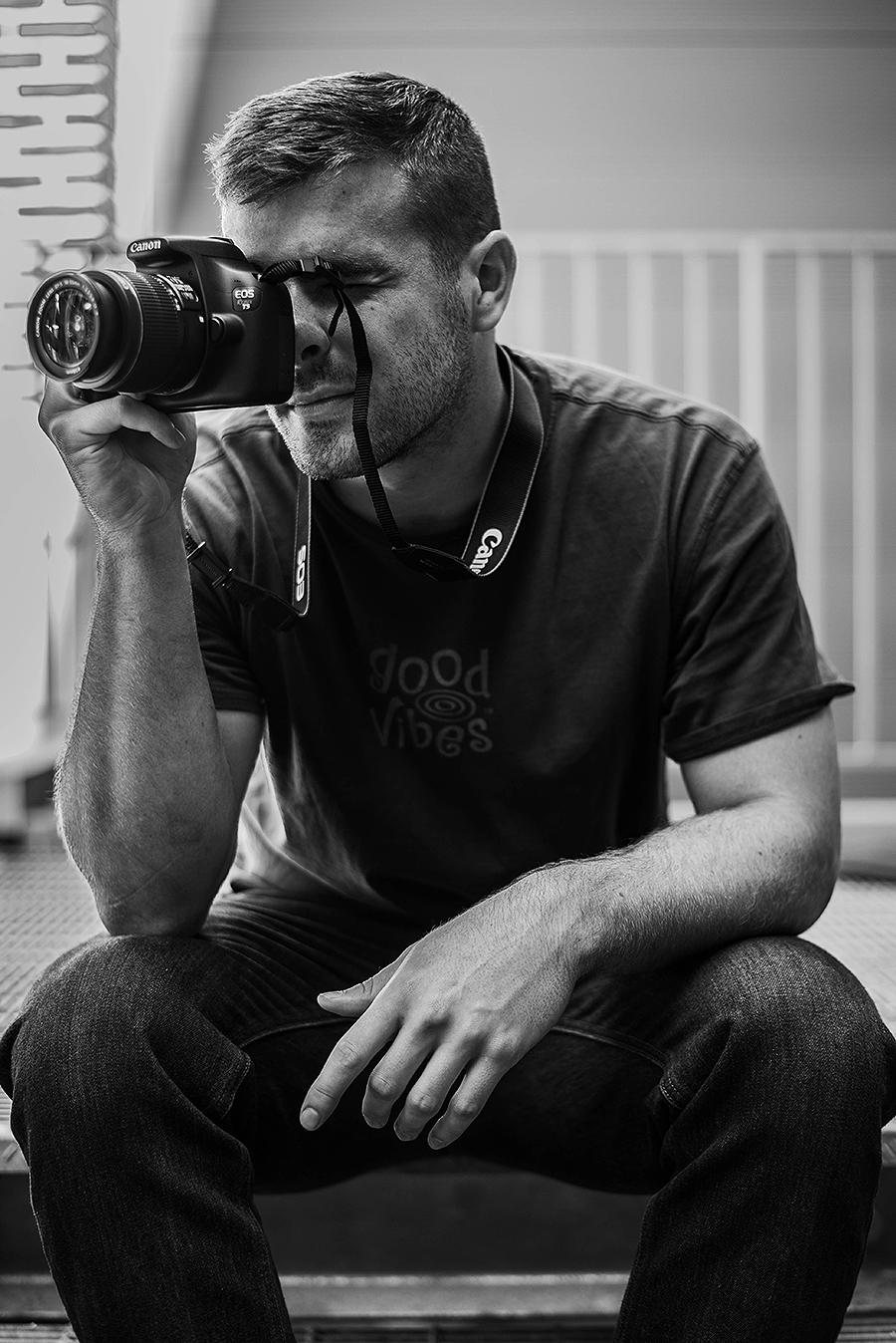 Portrait of Brian Schoenauer by Kaleb Germinaro, Copyright 2016.