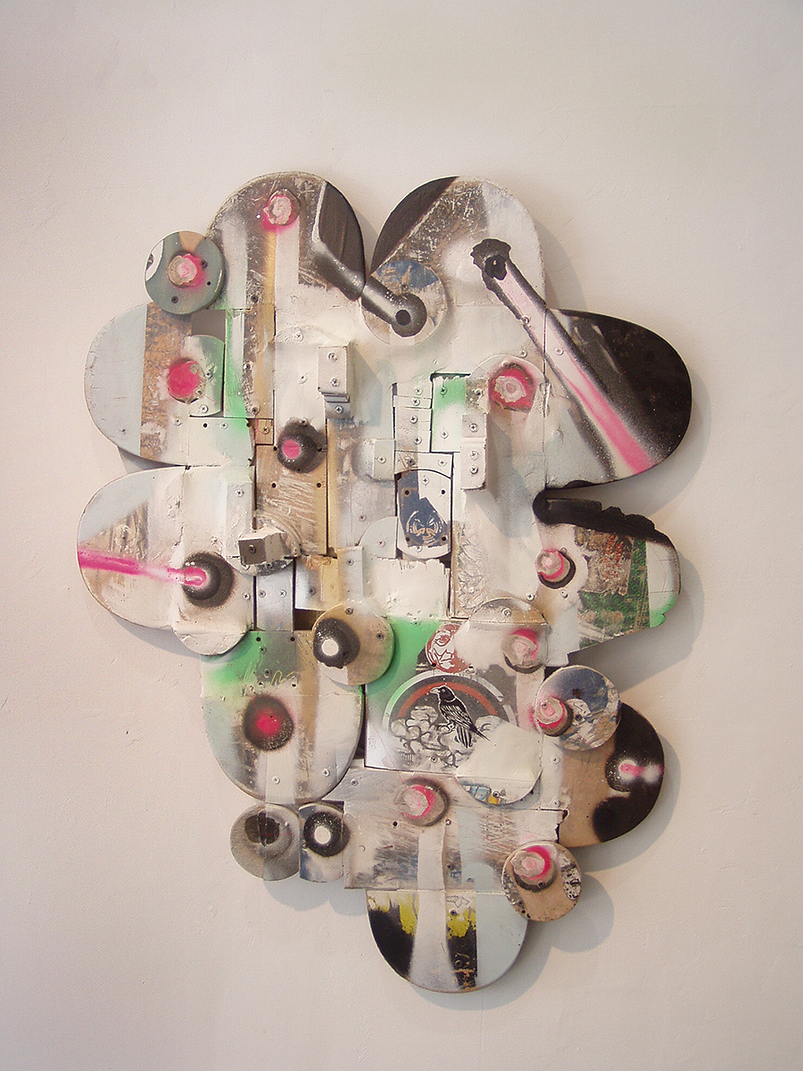 Tyler_Kline_painter_Jed_Williams_Gallery_Philadelphia_artist_exhibition_wall_sculpture