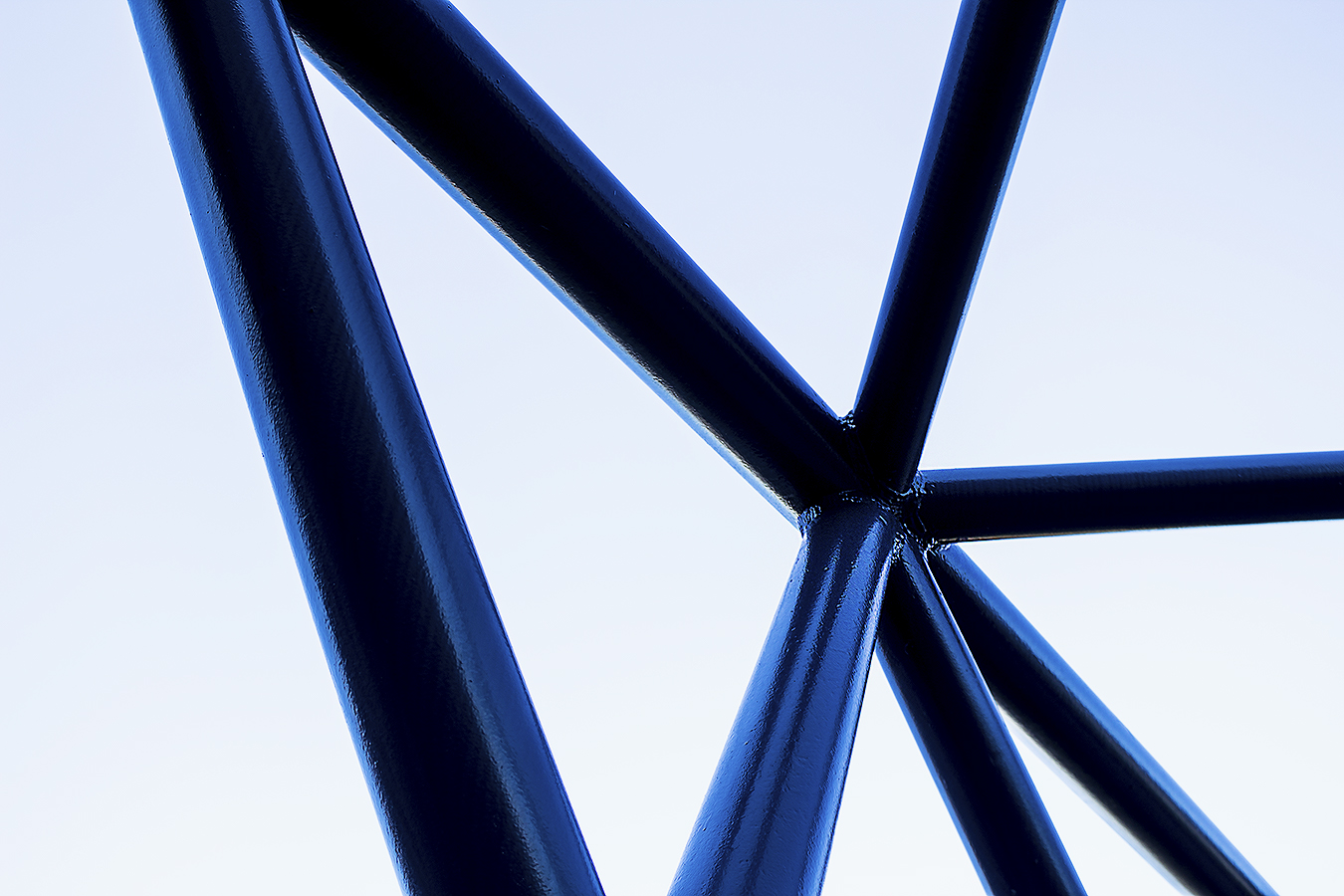Janelle_Tong_Photography_Tony_Ward_Studio_Individual_Project_UPenn_Penn_Park_Bridges_Crosses_Sky_Blue_Structure_2