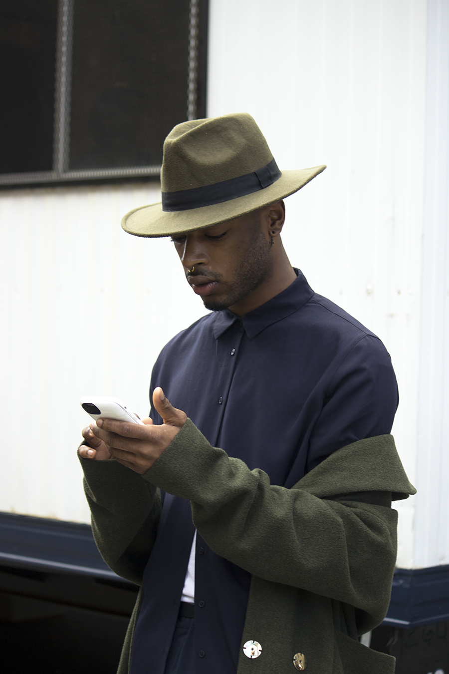 Sharon_Song_New_york_fashion_week_hat_wearing_male_black_fashionista_Tony_Ward_Studio