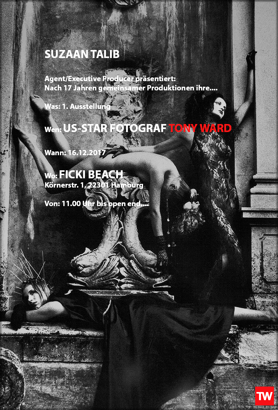 Tony_Ward_tableaux_vivants_ficki_beach_hamburg_Germany_December_2017