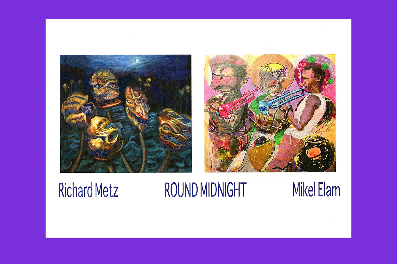 Tony_Ward_Studio_Mikel_Elam_affiliate_Artist_exhibition_Round_Midnight_panting_Mixed_media