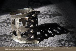 J_Rudy_Lewis_Jeweler_fetish_sterling_silver_bondage_jewelry_Tony_Ward_Studio_art_affiliates_galleries_Polarire's_Corset_cuff.jpg