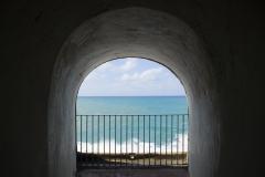 Alexis_Masino_UPenn_Tony_Ward_Old_San_Juan_Puerto_Rico_spring_break_vacation_photo_photography_island_castle_castillo_felipe_del_morro_window_water_ocean_island