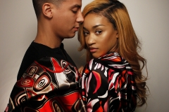 Chi Aguwa_K Vaughn Scarves_ model_ Scarves_relationship_couple_red_pattern_Lab Session_Fashion and Photography_2