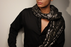 Chi Aguwa_K Vaughn Scarves_ model_ Scarves_relationship_couple_red_pattern_Lab Session_Fashion and Photography_5