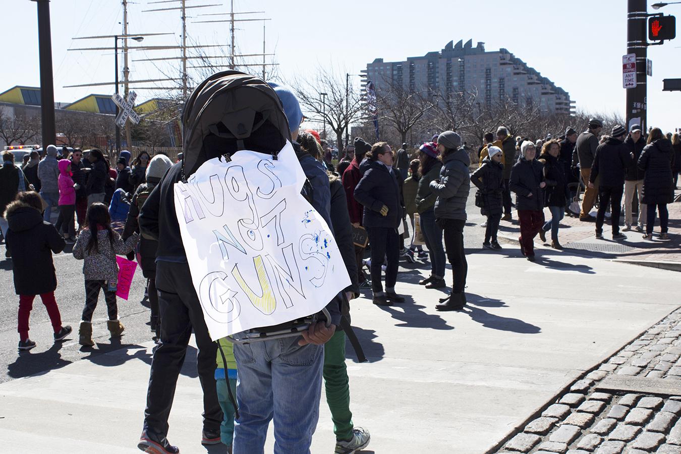 Hilary_Lam_Hugs_not_guns_protestor_philadelphia