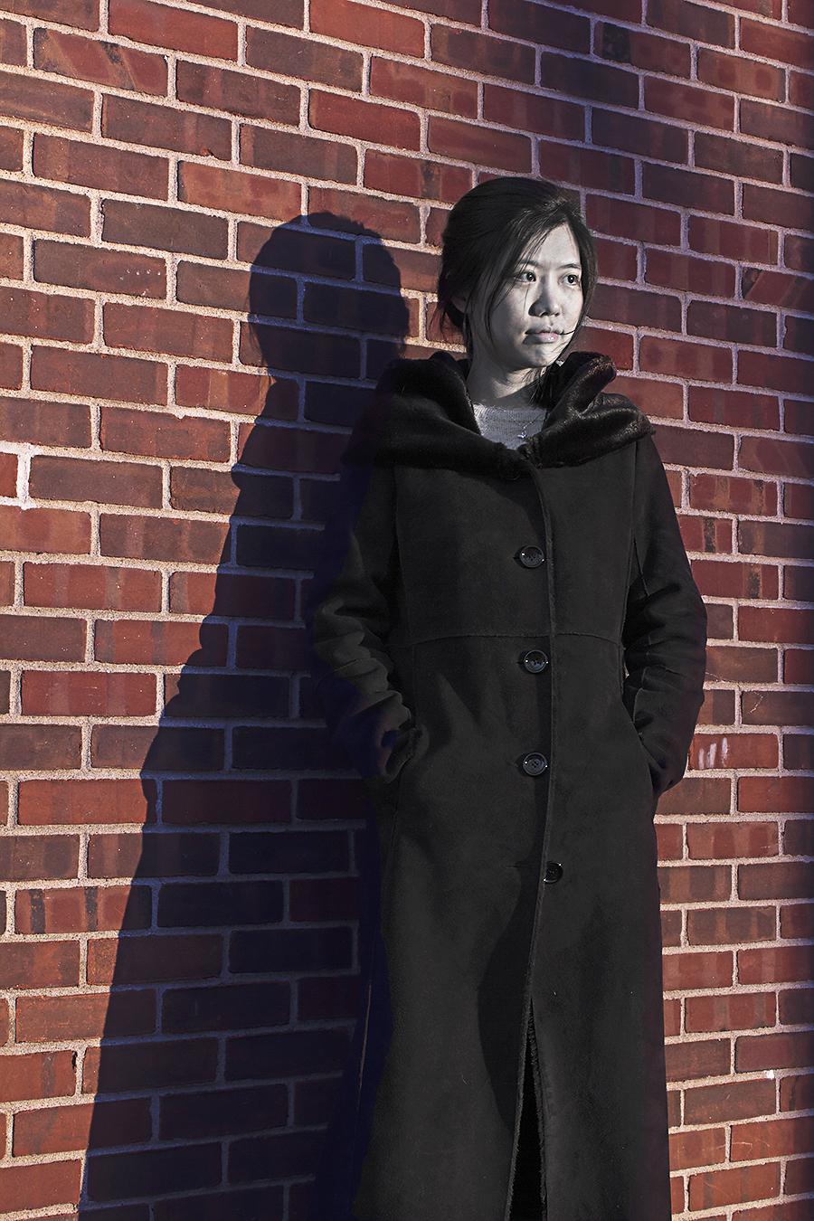 Hong_Li_Photography_Class_Sad_Sadness_Feburary_09_2017_Location_Meyerson_Hall_School_of_Design_Snow_Landscape_Architecture