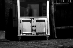 Jesse_Halpern_Still_Life_Porch_Cabinet_Wooden_Night_West_Philadelphia