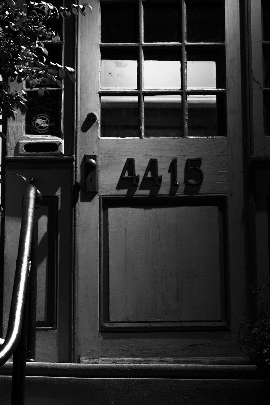 Jesse_Halpern_Still_Life_Porch_Door_Adress_NIght