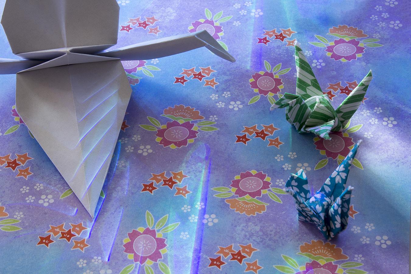 12_Feathers_Jonathan_Tang_UPenn_Tony_Ward_Studio_Crane_Long_Exposure_Low_Light_LED_Optics_Origami_Paper