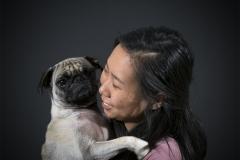 Karen_Liao_portraiture_photography_studio_lighting_happiness_pug_dog_smile