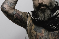 ALEXIS_MASINO_UPENN_TONY_WARD_FASHION_PHOTOGRAPHY_FINE_ARTS_OLD_SCHOOL_SHIRT_MAKERS_KEVIN_STEWART_KAY_DAVIS_CLOTHES_CLOTHING_CLOTHIERS_KNITWEAR_KNIT_SCARF_SCARVES_HAT_HATS_WINTER_MODEL_BEARD_TATTOOS_TATTO_COOL
