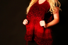 Jingyi_Sun_fashion photography_Kevin_Stewart_ Kay_Davis_Knit_wear_Girl_Red