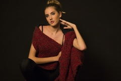 Linda_Ruan_fashion_Photography_Kevin_Stewart_Old_School_Shirtmaker_New_York_knit_wear_Jennifer_Red_knit_black_elegance