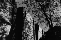 Linda_Ruan_depressed_girl_black_white_chirascuro_modern_architecture