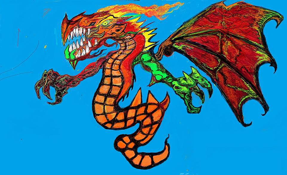 Christopher_Suciu_Monster_dragon_sharp_teeth