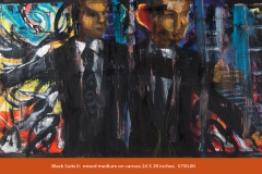 Mikel_Elam_painter_mixed_medium_modern_primatives_BLACK SUITS II-19