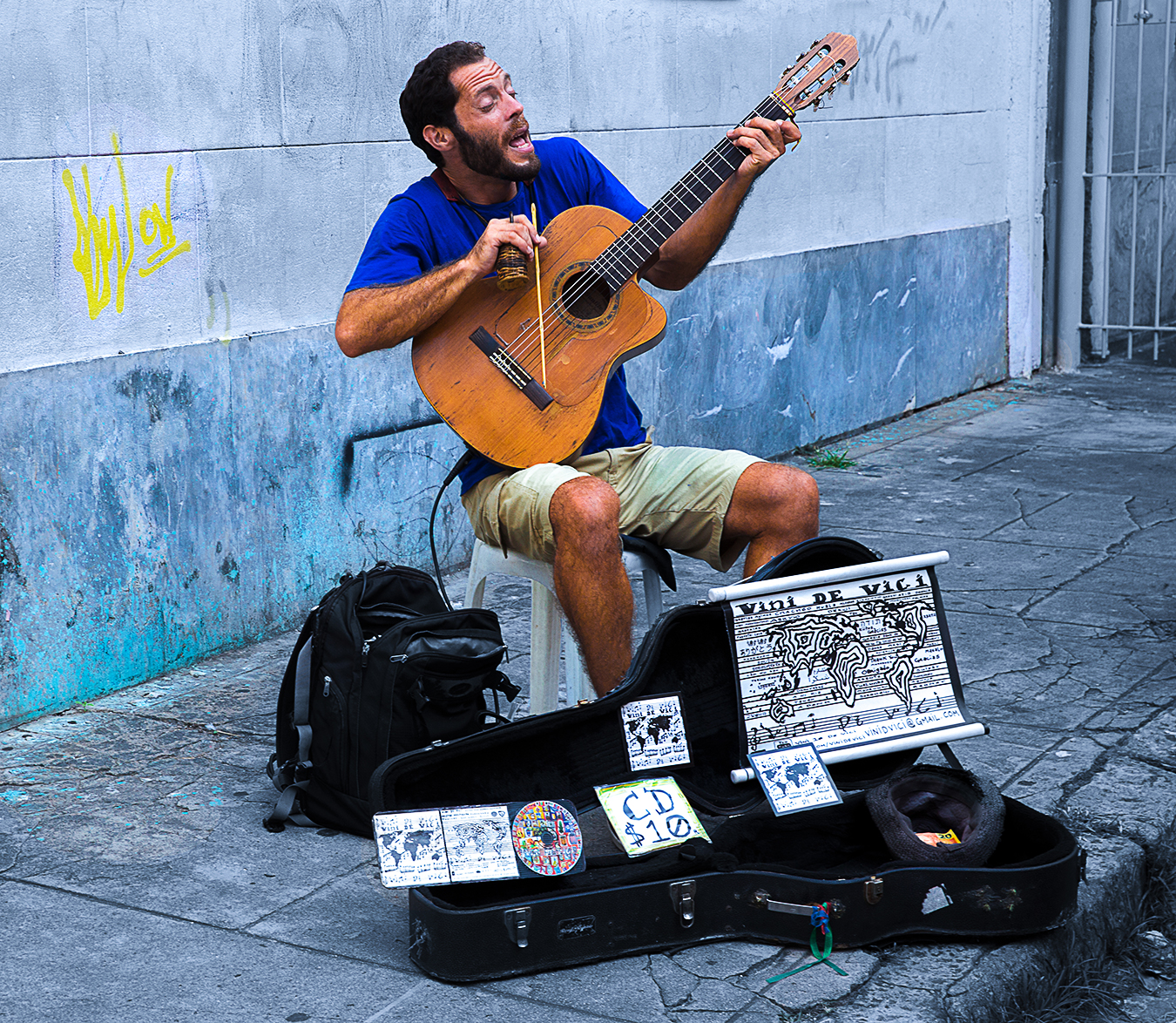 Rongrong Liu_Brazil_Rio De Janeiro_Farvela_A Passionate Musician