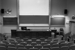 Tyler_Ling_photography_places_science_biology_upenn_lecture_exams_stress_Leidy_10_auditorium_black_white