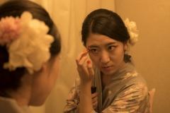 1_Xiaonan_Chen_erotic_photography_asian_kimono_makeup_flowers_lust_red_nails_sex