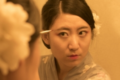 2_Xiaonan_Chen_erotic_photography_asian_kimono_makeup_flowers_lust_red_nails_sex_mascara