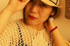 Xiaonan_Chen_fashion_photography_Tony_Ward_Studio_Asian_classy_UPenn_student_fashionable_hat_earrings_bracelet