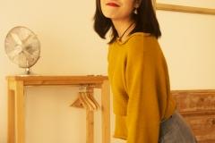 Xiaonan_Chen_fashion_photography_Tony_Ward_Studio_Asian_classy_UPenn_student_fashionable_hat_earrings_jean_skirt