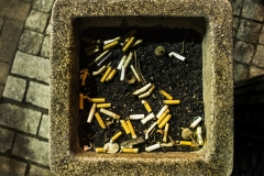 Yash Killa_Philadelphia_Night_AshTray_Cigarette_DustBin