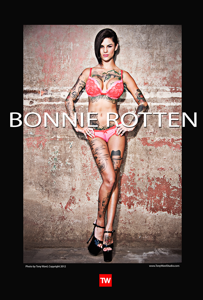 Bonnie Rotten adult film star