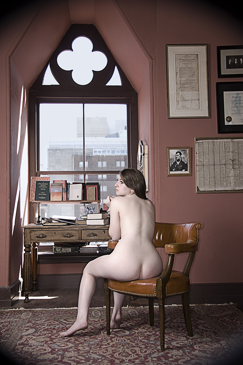 Nude photo of jennie shapira for the  Philo Project