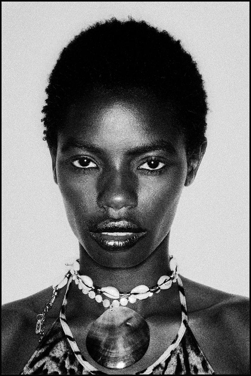 black fashion model, Amsterdam, The Netherlands